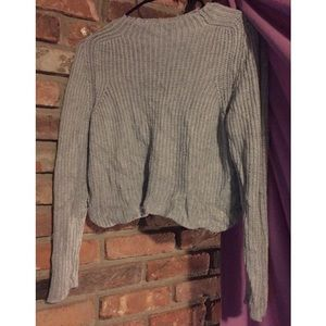 American Apparel Slightly Cropped Knit Sweater